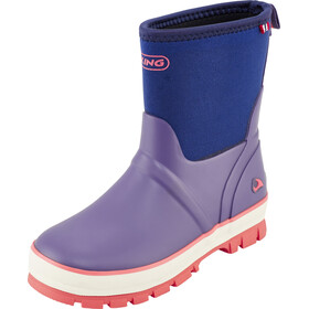 Viking Footwear Solan Neo Kalosze Dzieci fioletowy/niebieski